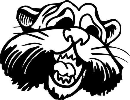 Panther Scared Cartoon