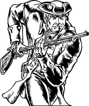 Patriot Illustration