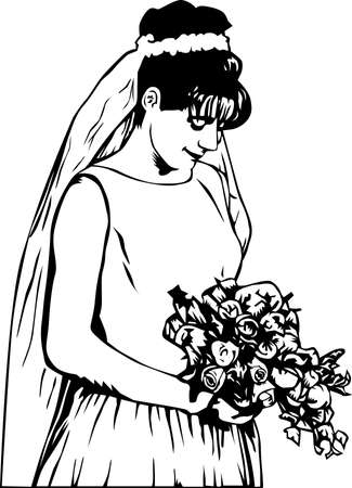 Wedding Illustration.