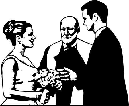 Wedding Illustration.