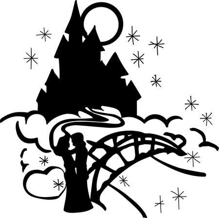 A Castle Dance Illustration.