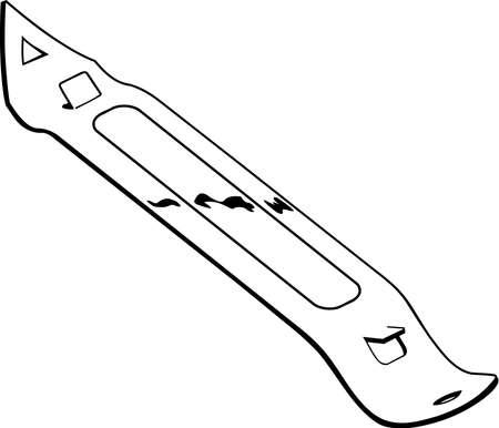 Bottle Opener Illustration