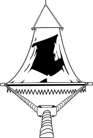 Hammock Illustration Illustration