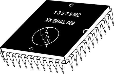 Microchip Illustration