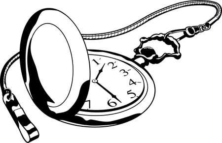 Zakhorloge illustratie