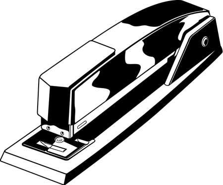 Stapler Illustration