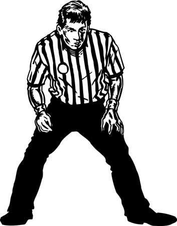 Referee Illustration.
