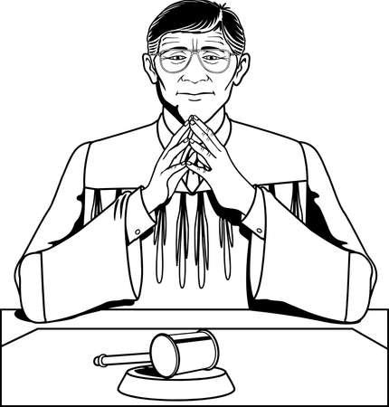 Judge Illustration.