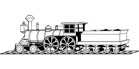 Train Illustration 版權商用圖片 - 86819411