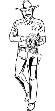 Marshal Illustration