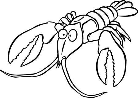 Crawfish Cartoon