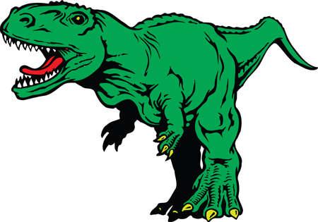 Tyrannosaurus Rex Illustration Ilustração