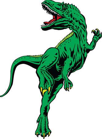 Tyrannosaurus Rex Illustration Иллюстрация