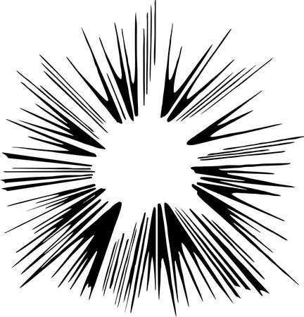 Flash Burst Illustration Иллюстрация
