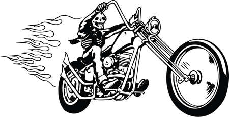 Death Ride Illustration