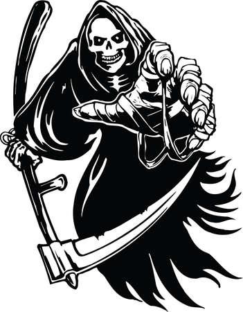 死神のイラスト