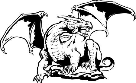 Dragon Illustratie