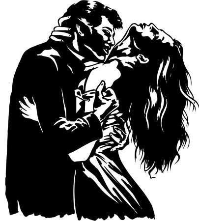 Couple Illustration 向量圖像