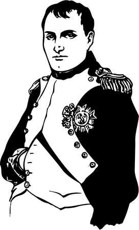 Napoleone Bonaparte Illustrazione Archivio Fotografico - 87613129