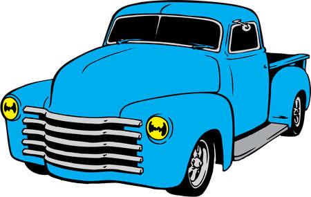 1949 Chevy Pickup Illustration
