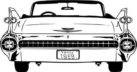 1959 Cadillac Illustration