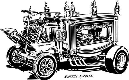 Boot Hill Express Illustration