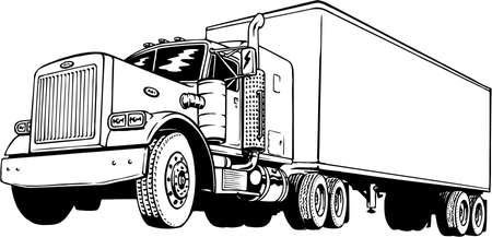 Truck Illustration 向量圖像