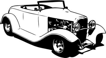 Street Rod Illustration