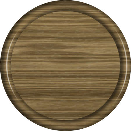 Walnut Wood Circular Sign Blank