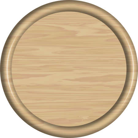 Maple Wood Circular Sign Blank