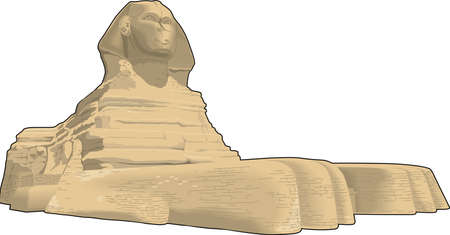 Sphinx Vector Illustration