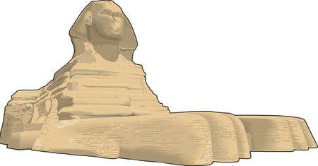 Sphinx Vector Illustration