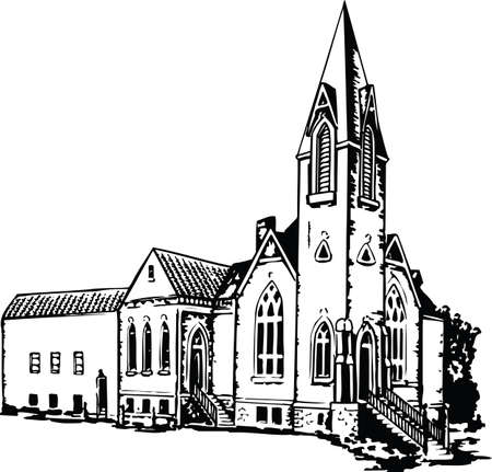 Church Vector Illustration 向量圖像