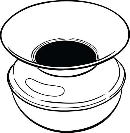 Spittoon Vector Illustration