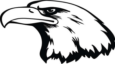 Eagle Head Vector Illustration Banque d'images - 139799362