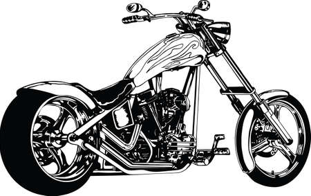 Chopper Vector Illustration
