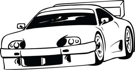 Automobile Vector Illustration Banque d'images - 146583797