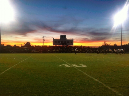 Friday night lights in Kentucky.  Stock fotó - 22210625
