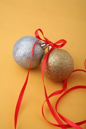 Christmas spheres  photo