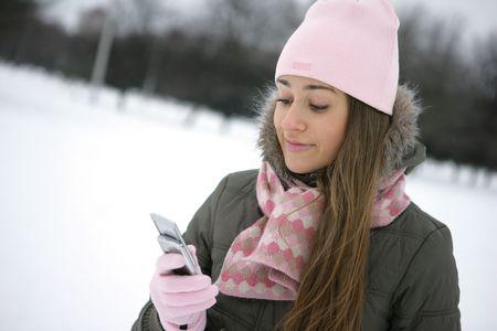 winter sms  photo