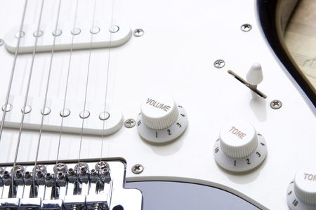 Guitar volume Stock Photo - 6592213