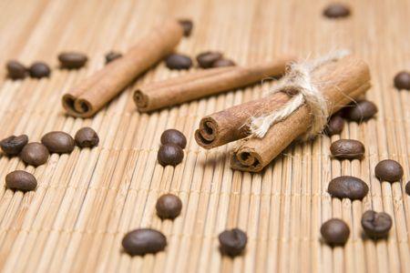Cinnamon sticks Stock Photo - 6619251