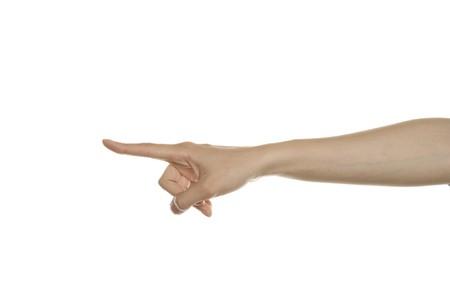 Gesture indicates photo