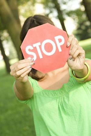 STOP Stock Photo - 7560604