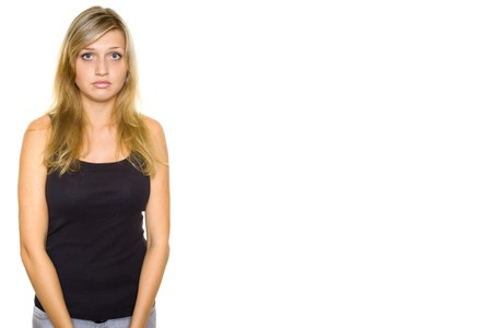 Close-up portrait of a beautiful teenager Stock Photo - 7704444