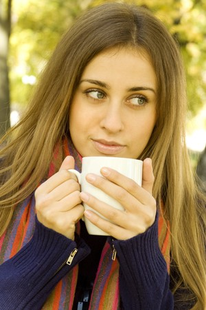 Coffee Girl photo