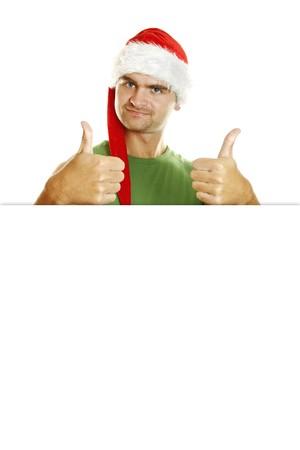 Christmas men Stock Photo - 8168667