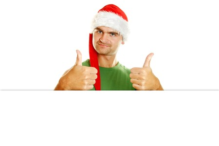 Hombres de Navidad  Foto de archivo - 8168668
