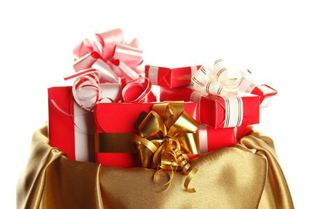 hristmas: Сhristmas sack full of presents