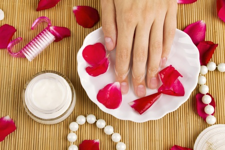 nail spa during a manicure session Stock Photo - 9968378